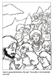 Kleurboek Jezus Messias Willem de Vink