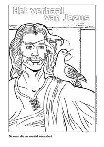 Kleurplaten Jezus Messias (download)