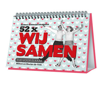 Hemels Huwelijk Kalender - 52 x Wij Samen door Willem en Marian de Vink